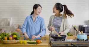 おうちで料理パーティー女子会などが盛り上がる